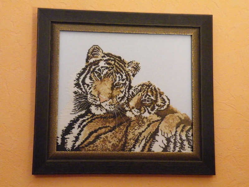 """Тигрица с тигренком"" (""Tiger"